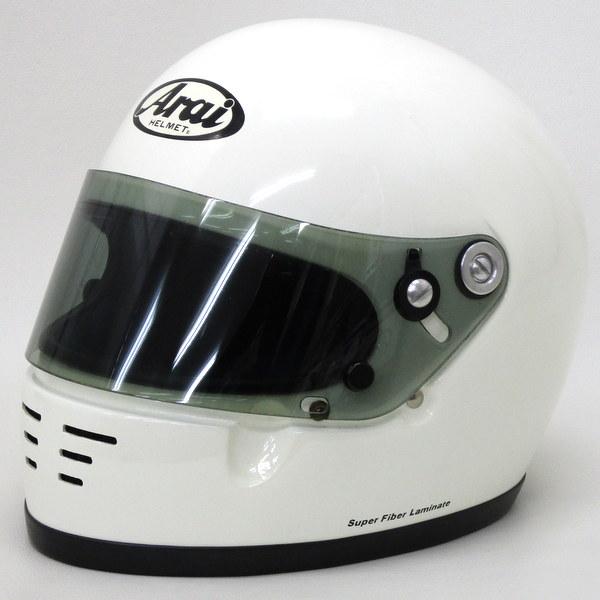 Arai GP-2K ホワイト 4輪カート用のヘルメット